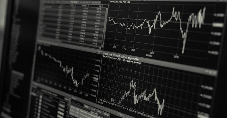 Stock trading on a computer
