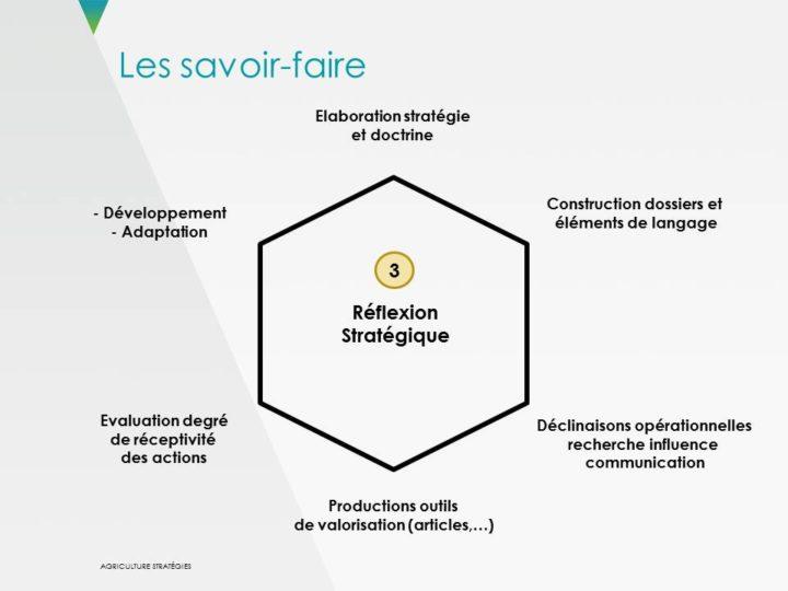 Savoir-faire 3 : Réflexion stratégique